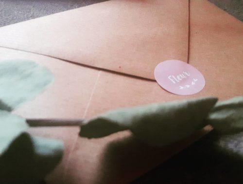 geboortekaartje kraft, mama van dijk, mamablog, leesign, sluitzegel, roze