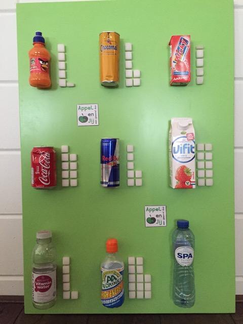 suikerklontjes, frisdrank, pakjes drinken, ongezond, diy, yoghurtdrank