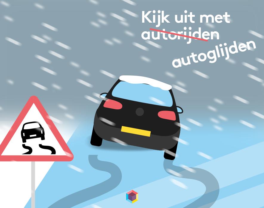 ongeluk, verzekering, botsing, autorijden, auto, glijden, winter, Mama van Dijk, independer, mamablog