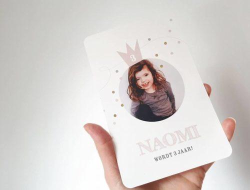 mamablog mama van dijk, tadaaz, uitnodiging, feestkaart, kinderfeestje, review