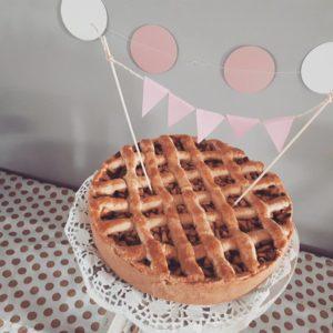 zelfgemaakte appeltaart Mama van Dijk mamablog kinderfeestje