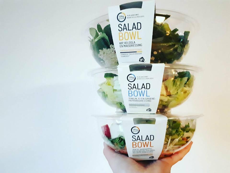 salades, maaltijdsalade, saladbowl, AH