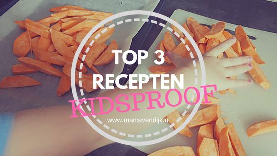 kidsproof recepten, eten peuter en dreumes