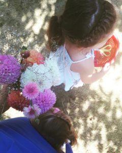 bloemen plukken in de pluktuin, lees het op mamablog mama van dijk