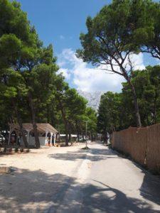 Camp riviera makarska, route kroatie camper