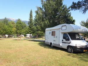 camping borje, plitvice national park, camper kroatie