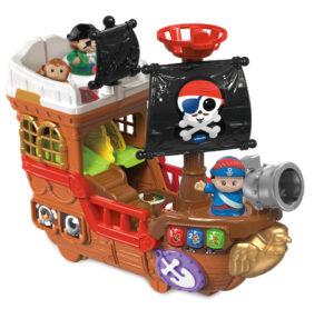 piratenschip Vtech, mamablogger mama van dijk, cadeautips