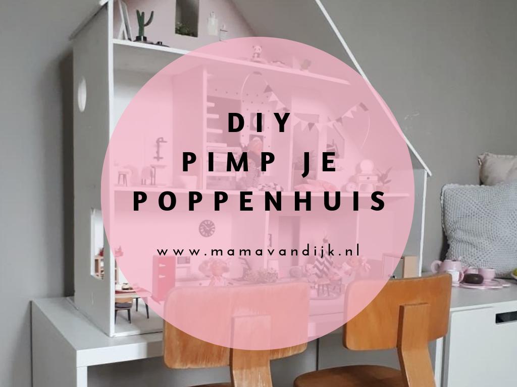 inrichting poppenhuis, DIY, opknappen POPPENHUIS, modern poppenhuis, diy poppenhuis