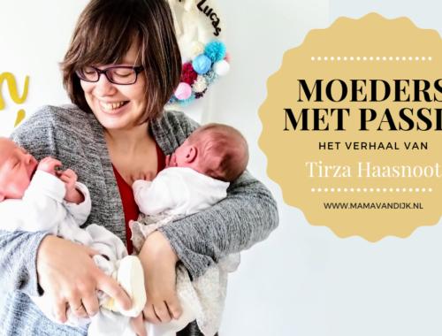 Vandaag het verhaal van Tirza, the purple lady, Moeder met passie, Mamablog Mama van Dijk