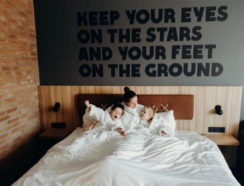 nachtje weg met kinderen, hup hotel