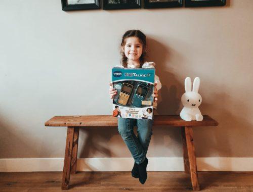 mamablog, kleuter, cadeautips, 5 jaar, winactie, kiditalkies, vtech