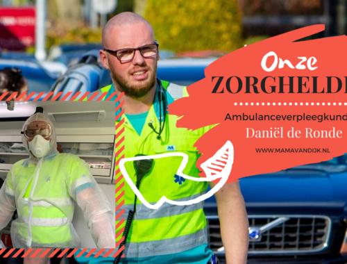 daniel, ambulance verpleegkunde, coronavirus, mama van dijk