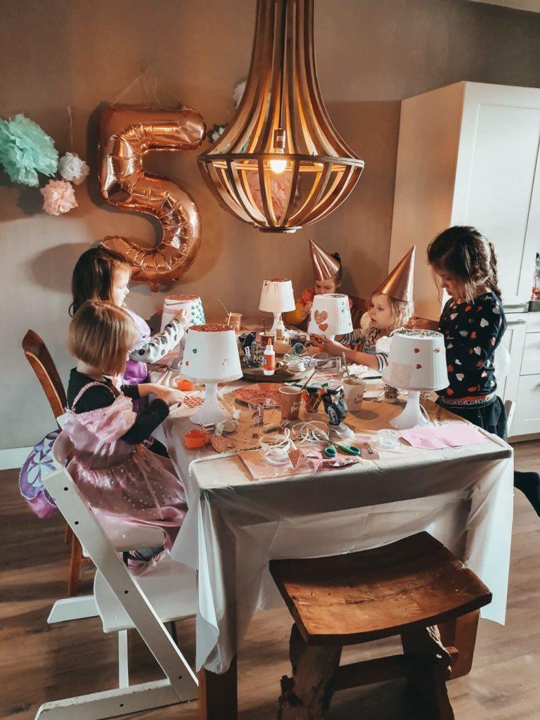 Lampan lampje ikea versieren, mamablog, kinderfeestje